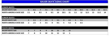 Bauer Erwachsene Schlittschuh Supreme 140 Senior, Schwarz, 09.0/44.5, 1043528 - 2