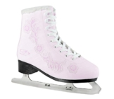 Hudora Damen Schlittschuh Eislaufkomplet Rose, Gr. 41, Flower Design - 1