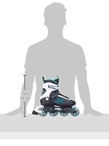 K2 Damen Inline Skate Zoe 80, Mehrfarbig, 8, 30A0728.1.1.080 - 3