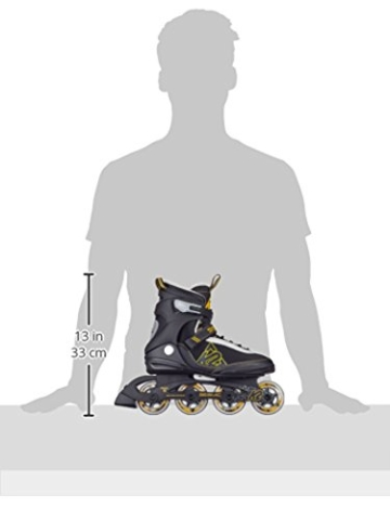 K2 Herren Inline Skate Seismic 80, Mehrfarbig, 10.5, 30A0727.1.1.105 - 3