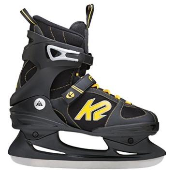 K2 Herren Schlittschuhe FIT Ice, Schwarz-Gelb, 9, 2550000.1.1.090 - 1