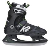 K2 Herren Schlittschuhe FIT Ice Pro, Schwarz-Grün, 9, 2550002.1.1.090 - 1