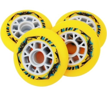 8 St. Mint Inline Skate Race Speed Rollen - 90mm - High Rebound, Größe: Härte 85A - 2