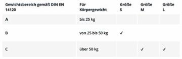 Hudora Biomechanisches Protektorenset, schwarz/grau, Gr. S, 83029 - 2