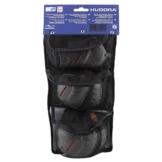 Hudora Biomechanisches Protektorenset grau/schwarz, S, joey für Kinder 83161-62 - 1