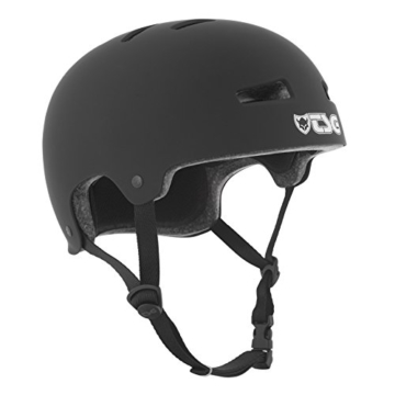 TSG Helm Evolution Solid Color, Satin Black, S/M, 75046 - 1